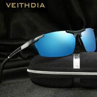 VEITHDIA Aluminum HD Polarized Photochromic Sunglasses Men Driving Sport Glasses