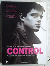 CONTROL (2007) DVD RARO Ian Curtis A.Corbijn S.Riley Joy Division FC OOP