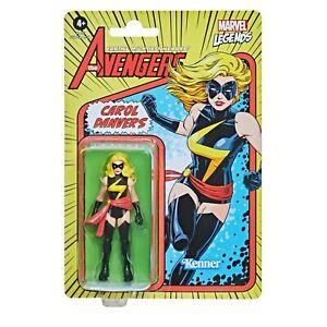 "Kenner Marvel Legends The Avengers Retro 3.75"" Figures - Carol Danvers"