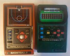 New ListingVintage Mattel Electronics Basketball 2 1979 and Classic Football 2 Handhelds!