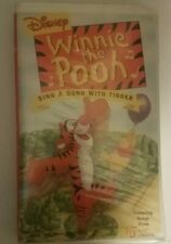 Winnie the Pooh - Sing a Song with Tigger (VHS, 2000)