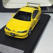 1/43 Scale Mark43 Honda Integra Type R DC2 Yellow Resin PM4311MY
