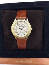 Baume & Mercier Riviera 34mm 18K Yellow Gold Case Quartz Unisex Watch...RARE!!!