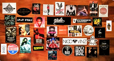 HUGE 40+ Hip-Hop/Rap/R&B Stickers Lot! WEEKEND TYLER THE CREATOR LOGIC NAS GUCCI