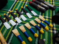 Highland Bagpipe Cane Reeds Scottish Bagpipes Practice Chanter Syntactic Reed