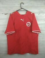 Switzerland soccer football jersey large 2006 2008 home shirt Puma