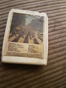 THE BEATLES ABBEY ROAD - 8 TRACK CARTRIDGE