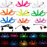 1-5M Flexible LED Neon Glow EL Wire Tape Tube Strip Xmas Party Deco+ Controller