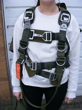 IRVIN AEROSPACE MK 1 PARACHUTE ASSEMBLY HARNESS & BAG DECORATIVE USE ONLY