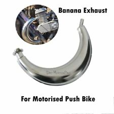 Expansion Chamber Moon Style Exhaust Pipe Muffler for 66 70 80cc Bicycle Engine