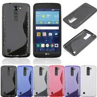 Slim GEL TPU Rubber Case Soft Cover Protective For LG Tribute 5 K7/K8/Phoenix 2