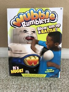 WUBBLE Ball Rumblers FULL NELSON Inflatable Blow Up & Pump Included