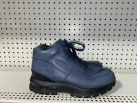 Nike Air Max Goadome ACG Mens Leather Sneakerboots Size 9.5 Midnight Blue