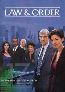 LAW & ORDER - THE SEVENTEENTH (17) YEAR (2006-2007 SEASON) (DVD)