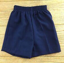Boys Size 4T Shorts Dress Pants Navy Blue Stretch Waist School Uniform