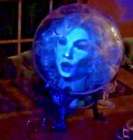 Madam Leota talking head Haunted Mansion Custom Prop w/ projector Disneyland d23