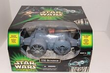 Star Wars Power Of The Jedi Tie Bomber With Tie Pilot Retired