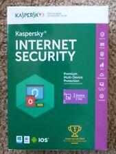 Kaspersky Internet Security 1 device 1 year 2016/2017