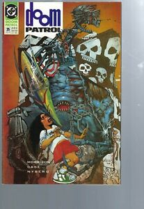 DOOM PATROL 35 - 1ST  CAMEO FLEX MENTALLO - GRANT MORRISON - DC - VERTIGO COMICS