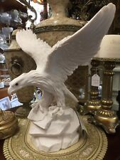 NEW white eagle A.Giannelli Egregia Italy sculpture composite marble material