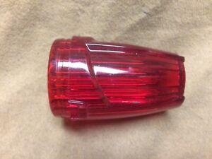 International Harvester, IH truck NOS cab marker light red lens, 13M