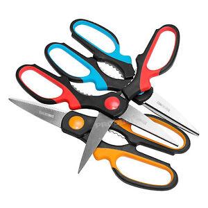 Multi Purpose Scissors Stainless Steel Kitchen Utility Shears Bottle Opener Set