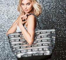 NEW Victoria's Secret Black Friday Carryall Weekender Tote Bag Silver Bling