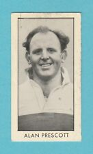 RUGBY  -  D. C. THOMSON - SCARCE  RUGBY  CARD  -  PRESCOTT OF ST. HELENS -  1958