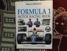WILLIAMS RENAULT FORMULA 1 MOTOR RACING BOOK - 1994 HB DJ BOOK