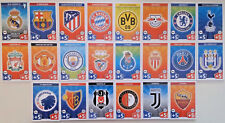 CHAMPIONS LEAGUE MATCH ATTAX 2017/18 ---Team Sets of 18 Cards ---- 2018 Topps
