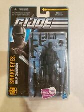 Gi Joe Pursuit Of Cobra POC Snake Eyes 1101 Desert Battle Moc