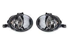 NEW UK VW Golf MK6 Jetta Caddy Front Fog Light Lamp Lens Pair N/S O/S 2009 2012