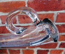 ancienne pipette de vigneron en verre soufflé 19ème  - vigne vin