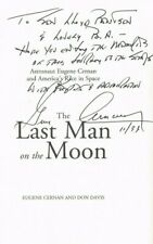 Apollo 17 Astronaut Gene Cernan Signed Page from The Last Man on the Moon