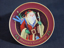 """New 6"""" Diameter Ceramic Plate With Traditional Santa Claus Design - was $3.99"""
