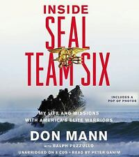 INSIDE SEAL TEAM SIX unabridged audio book on CD by DON MANN (8 CDs / 9 Hours)