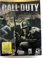 Call of Duty (PC, 2003) CD ROM 2 disks complete
