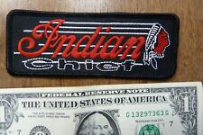 Indian Motorcycle Chief Patch Old NOS Classic Vintage Motocycle