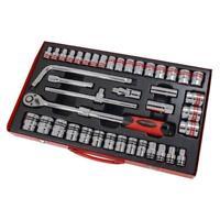 "41pc Socket Set 1/2"" SAE and Metric. Extending Ratchet (Genuine Neilsen CT1340)"