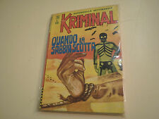 KRIMINAL NUMERO 76, EDIZIONI CORNO DEL DICEMBRE 1966, IN OTTIMO STATO