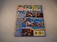DIRT RIDER MOTOR CYCLIST MAGAZINE 1987 MOTORCYCLE ATV SCOOTER BUYERS GUIDE