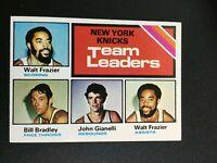 F65912 1975-76 Topps #128 Walt Frazier/Bill Bradley/John Gianelli/Walt Frazier
