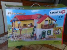 Farm World 42407 Schleich grande maison de ferme en plastique jeu avec animaux