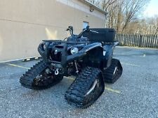 AS NEW YAMAHA GRIZZLY 700 EPS, SPECIAL EDIT. BLACK SNAKE, TRACKS, WINCH, LOW MIL