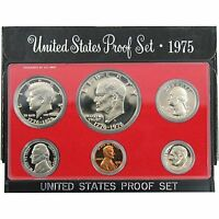 1975-S Proof Set United States US Mint Original Government Packaging Box Ike $