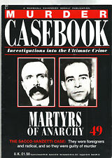 MURDER CASEBOOK NUMBER 49 'MARTYRS OF ANARCHY VGC
