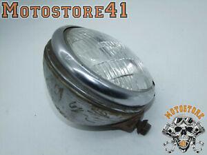 "Harley Davidson Old Headlight 5 3/4 "" Unity Light Old School Model Chicago S-4"