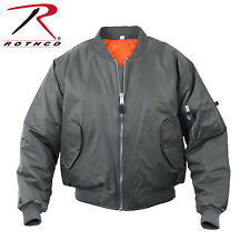 Rothco Military Air Force MA-1 Reversible Bomber Flight Jacket Coat All Colors