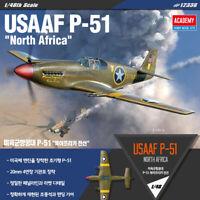 1/48 USAAF P-51 North Africa #12338 ACADEMY HOBBY MODEL KITS