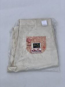 Stan Ray Single Knee Painter Pants New With Tags White/Off White